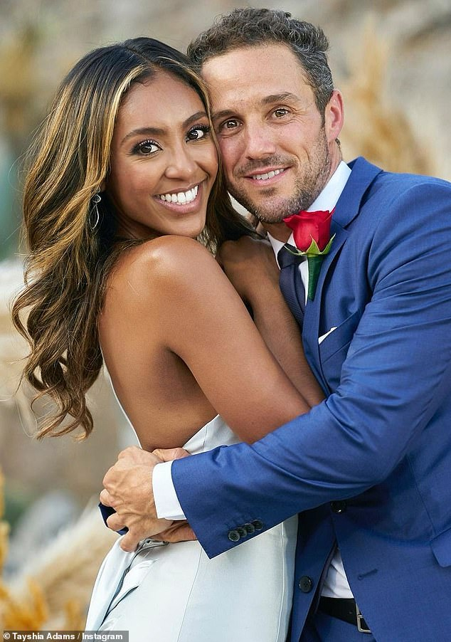 She said yes!  Their engagement was finally revealed last week at The Bachelorette finale, when she gave Zach the last rose