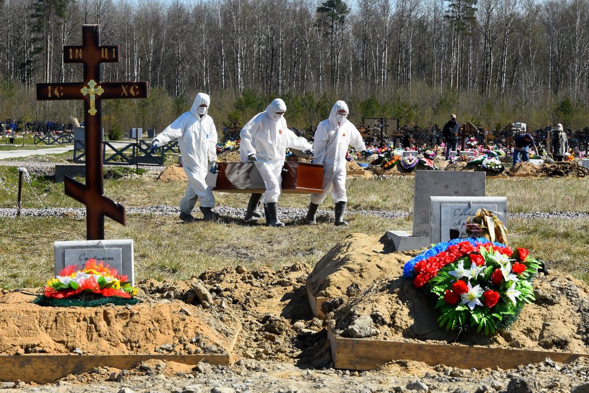 Russia says the number of Covid deaths is three times higher than what has been reported