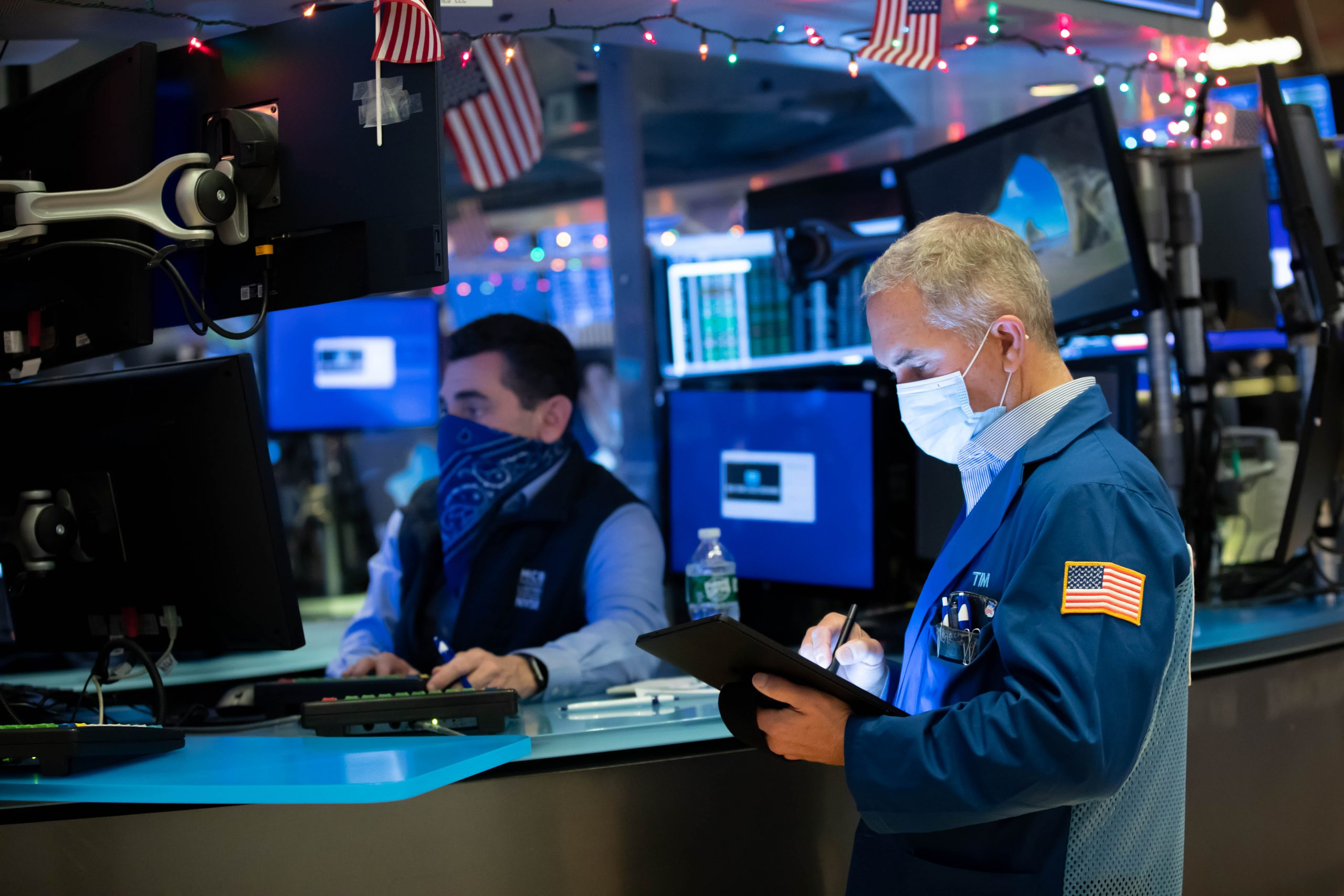Stock futures rose slightly as Wall Street prepared to enter the last week of 2020