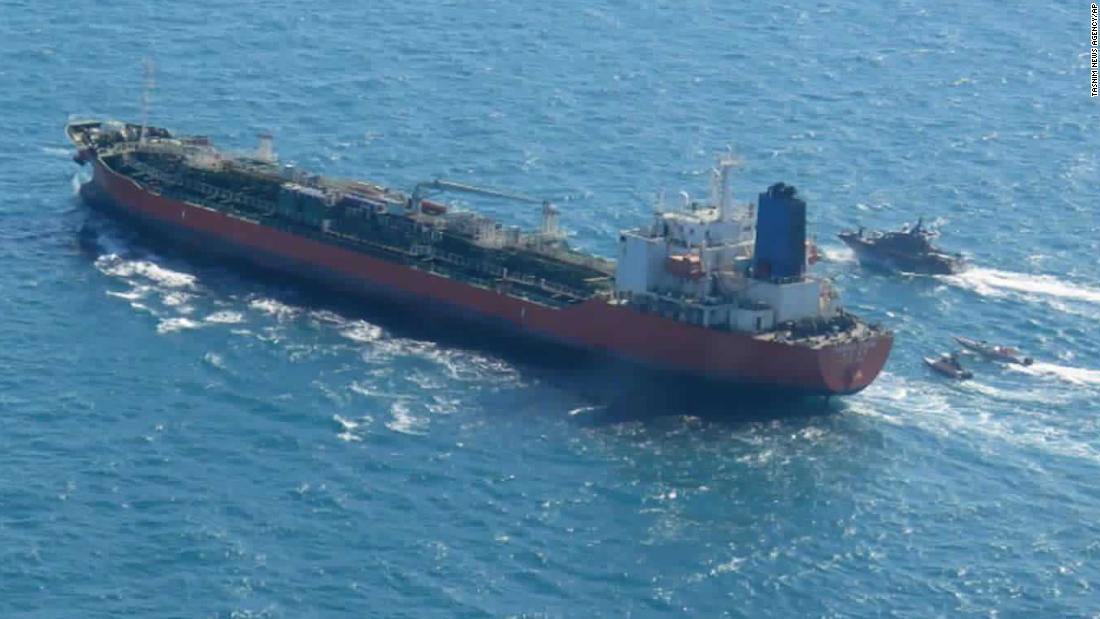 The ship's owner said that Iranian armed forces boarded a South Korean tanker