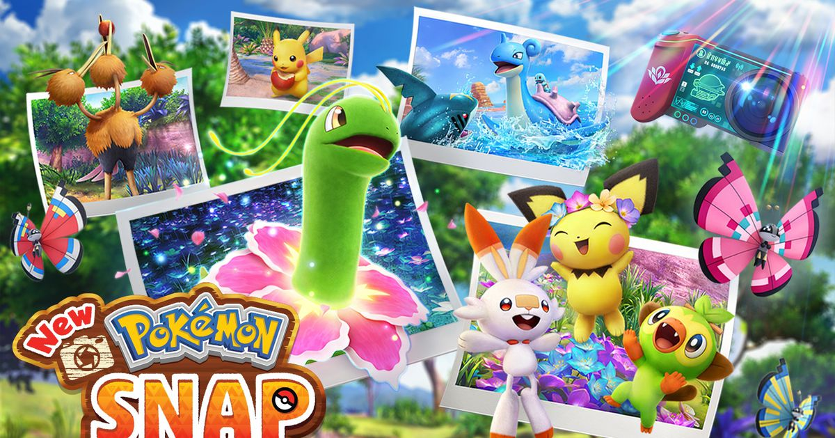 A new Pokémon Snap release date for the Nintendo Switch has been announced
