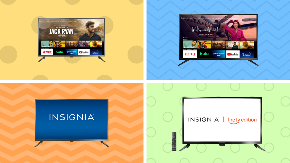 Save roughly 35 percent on Fire TV Edition TVs!  (Image: Amazon)