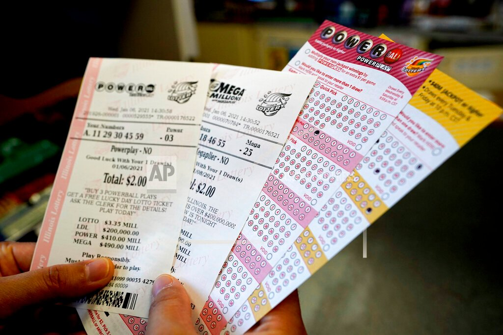 Here are the winning numbers for the $ 640M Powerball Grand Prix