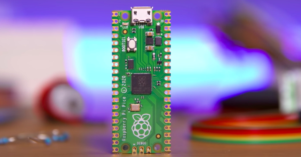 Raspberry Pi Pico is a $ 4 mini microcontroller that works from the company's own chip