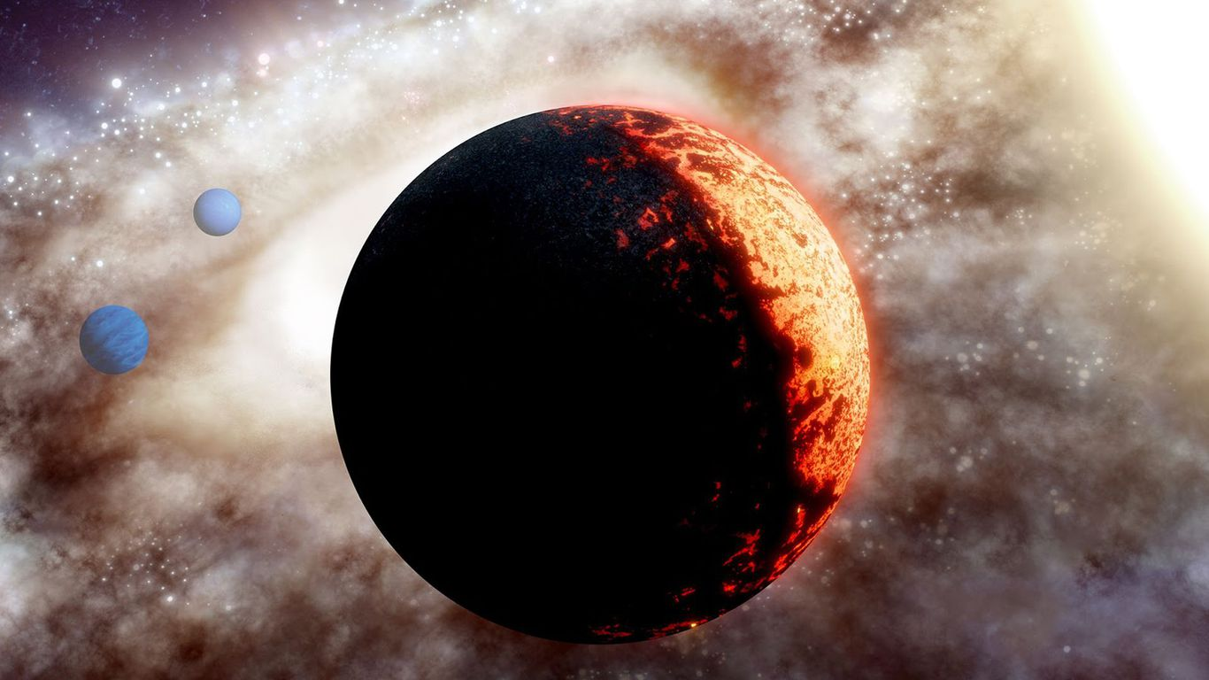 "Scientists have discovered a 10 billion year old ""super Earth"" planet"
