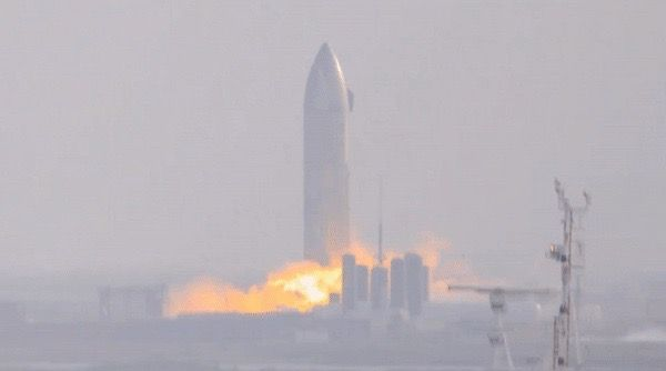 SpaceX's Starship SN9 prototype is launching its engines for the first time