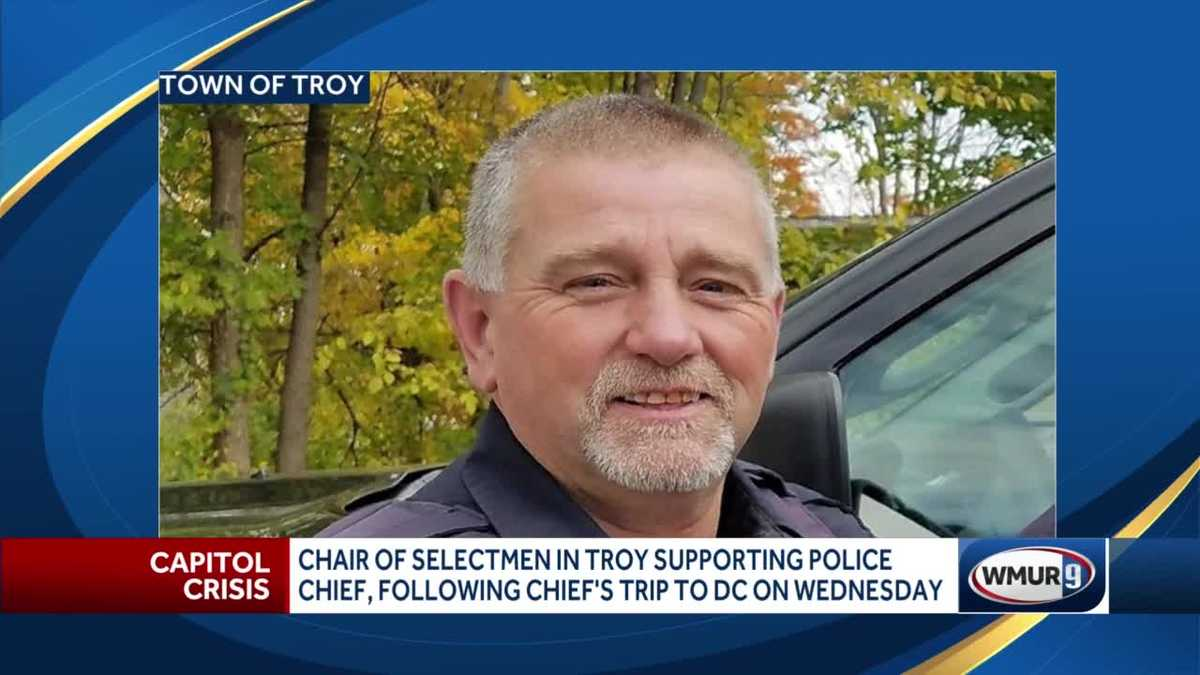 Troy officials support the police chief who attended a rally in Washington